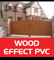 Wood Effect PVC Gates